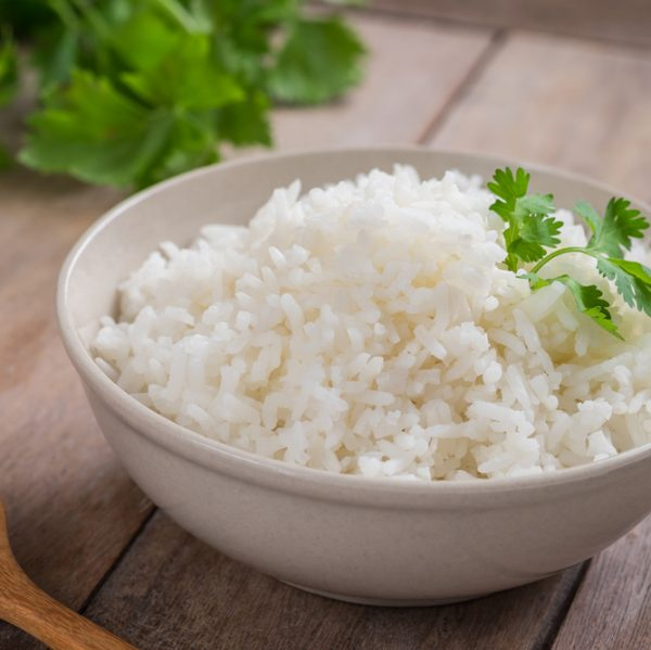 Bowl of Long Grain Rice